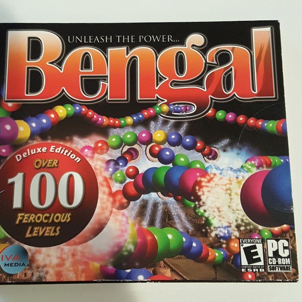 Sony cyber shot dsc w80 digital camera resource page - Bengal Deluxe Edition Cd Rom Pc Video Game 2006 Rated E Popcapgames