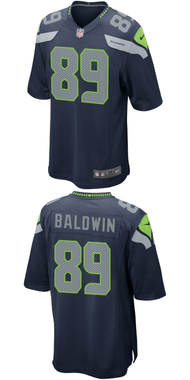 new styles edb10 5e082 UP TO 70% OFF. Doug Baldwin Seattle Seahawks Nike Game ...