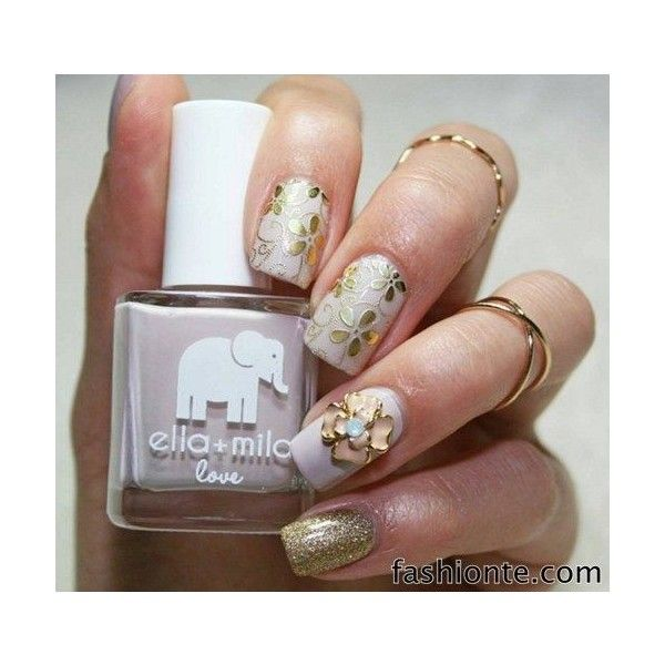 AMAZING NAIL ART TRENDS 2015 ❤ liked on Polyvore featuring beauty ...