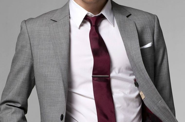 bd96cde2c667 Shirt and Tie Combinations with a Grey Suit | Men Fashion and Style ...