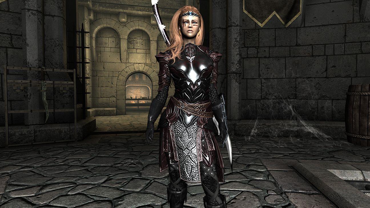The Dark Brotherhood Armor TS Edition at Skyrim Nexus - mods and
