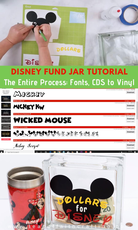 DIY Cricut Disney Project