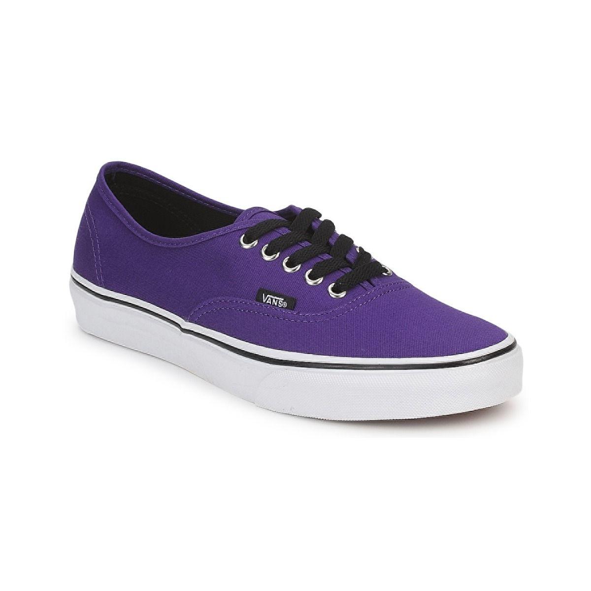 c6180262d18 Lage sneakers Vans AUTHENTIC Violet - Gratis levering bij Spartoo.nl ! -  Schoenen € 52,07