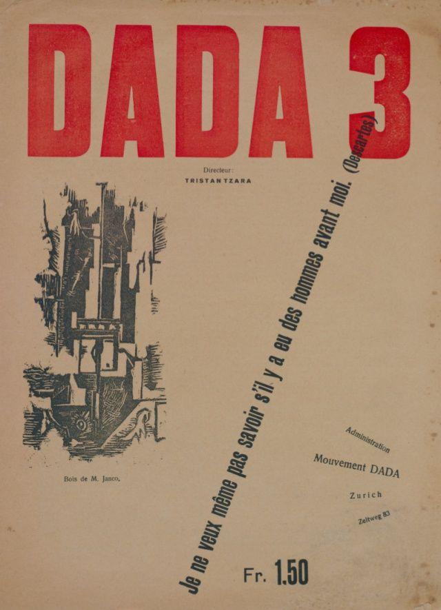 1918, Tristan Tzara - Dada 3 or Dada Manifesto History of Art - bauhaus spüle küche
