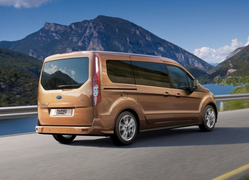 New 2014 Ford Transit Connect People Mover Available In December