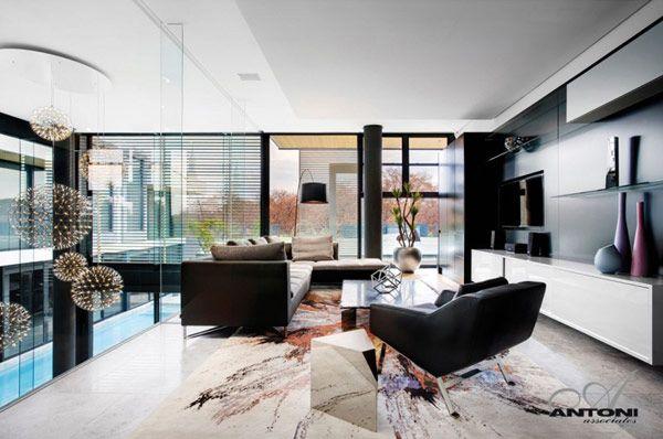 Diseño de Interiores & Arquitectura: Moderna Residencia en ...