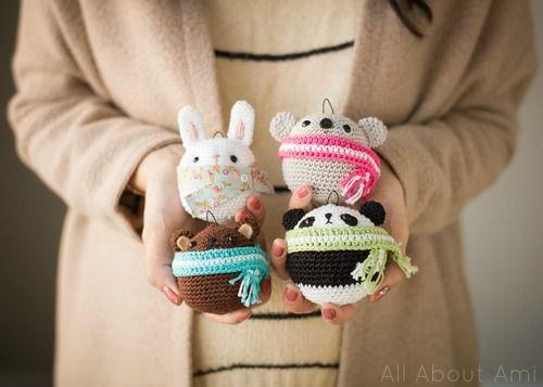 Bunny Ornament vi All About Ami