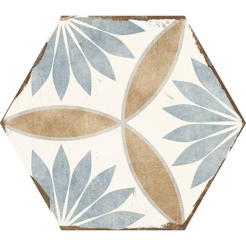 Carrelage Hexagonal Retro Imitation Carreau De Ciment Bo8506001