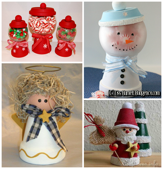 Made From Clay Pots Crafts: Creative Terra Cotta Pot Christmas Crafts