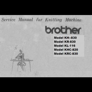 brother kh830 kr830 kl116 khc820 khc830 service manual service and rh pinterest com KRC Radio Mount Lavinia KRC