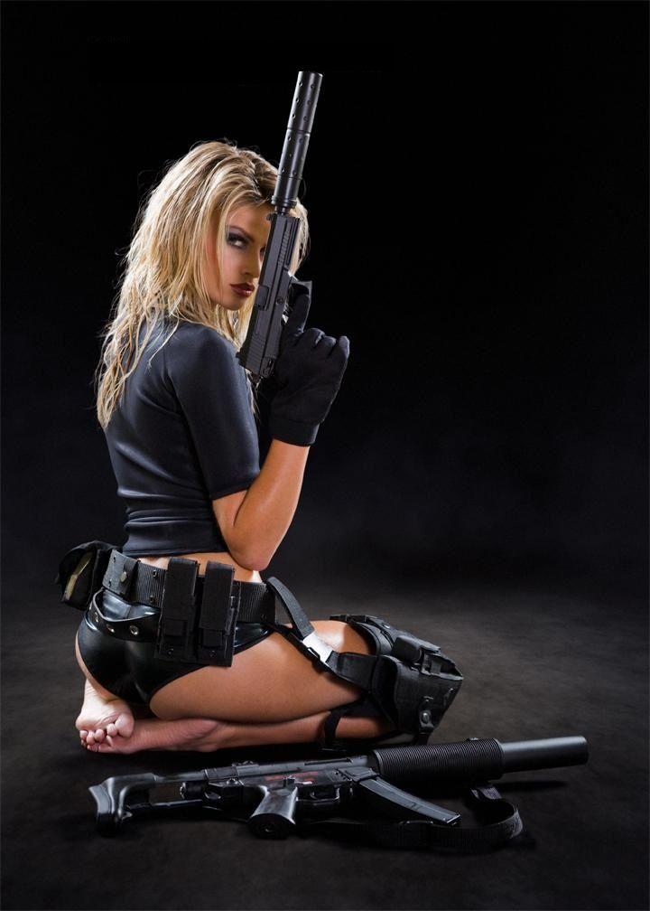 Thai girls with guns