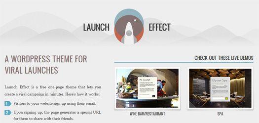 Un bel template #wordpress mono pagina gratuito per un lancio di un ...