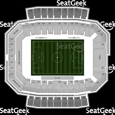 Columbus crew stadium seating chart columbus crew crew sc