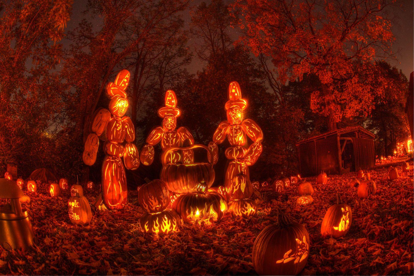 New York's Great JackO'Lantern Blaze Celebrates