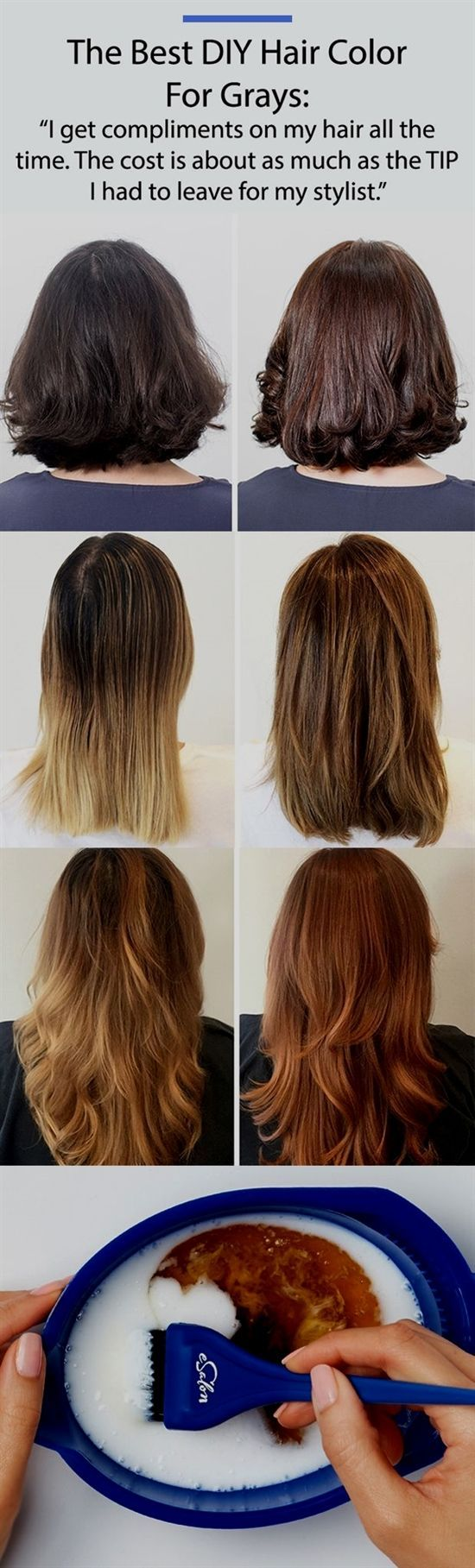 Hair Tutorials For Medium Hair Conair Hair Dryer 1600 Best Hair Cuttery Nea With Images Diy Hair Color Diy Hairstyles Hair Color