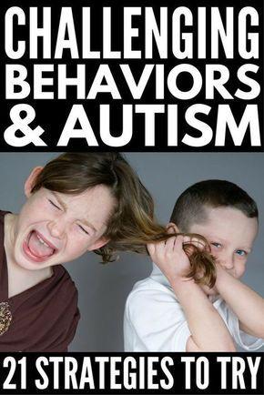 Challenging Behaviors and Autism: 21+ Strategies T