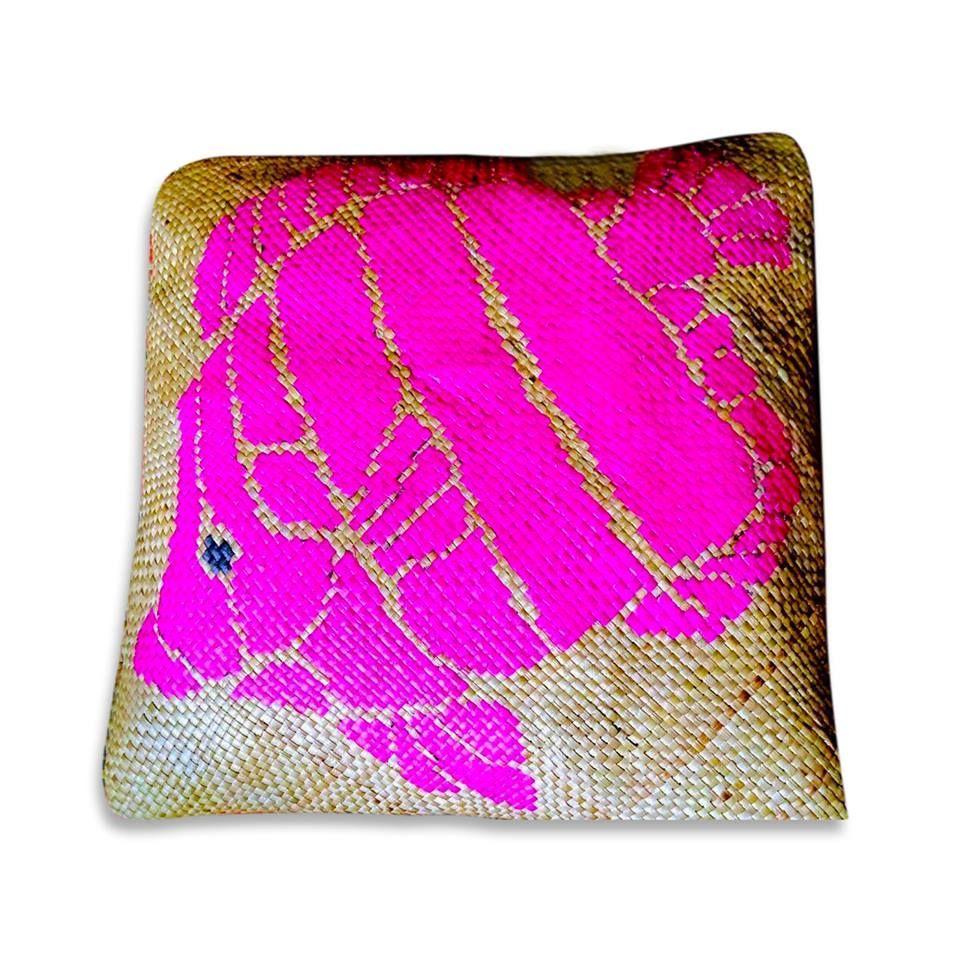 Banig throw pillow preorder price 65000 material