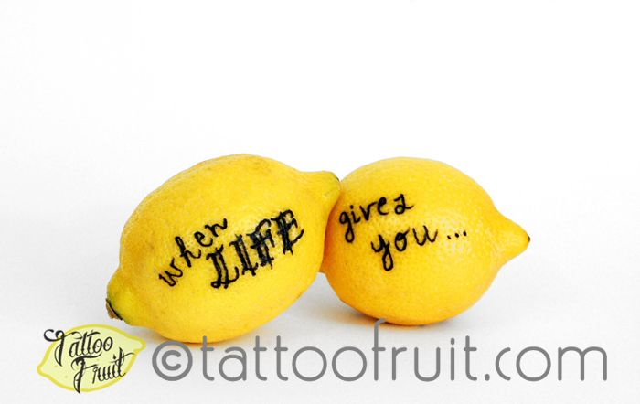 When life gives you lemons print and greeting card tattoo when life gives you lemons print and greeting card m4hsunfo
