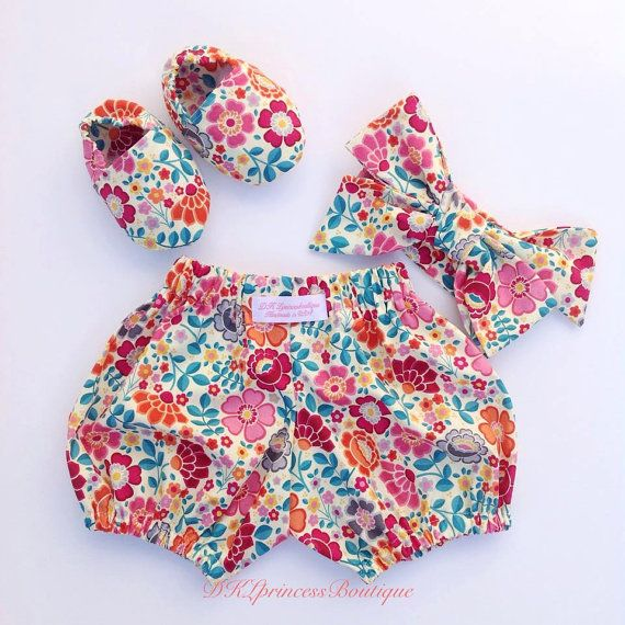 Pink Bow baby headband by ThreeLittleBears3 on Etsy