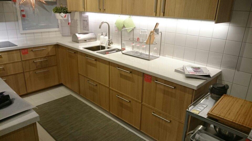 Ikea Küche eiche weiss Küche Pinterest - kche eiche