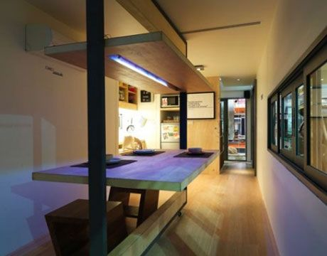 One can see how a small family might live comfortably in the versatile dwelling conceived by Site-Specific. Site-Specific - PopularMechanics.com