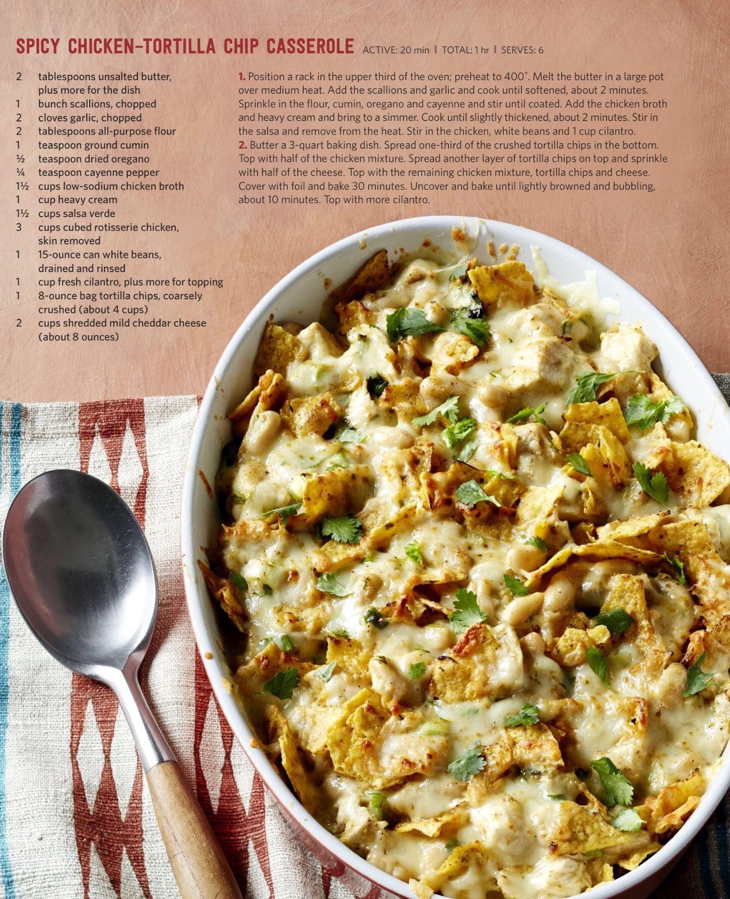 Spicy chicken tortilla chip casserole mexicali mindbender food spicy chicken tortilla chip casserole forumfinder Choice Image