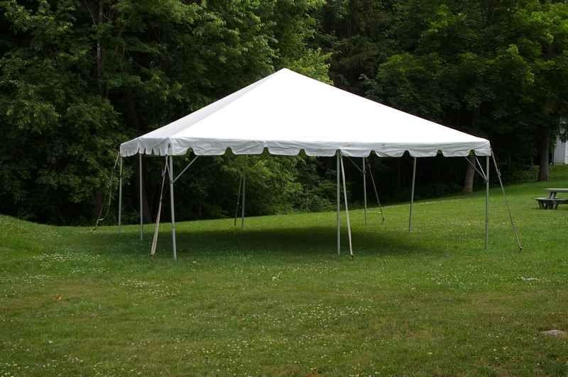 20 X 20 Frame Tent Rental Canopy Rentals Tent Winter Haven Florida