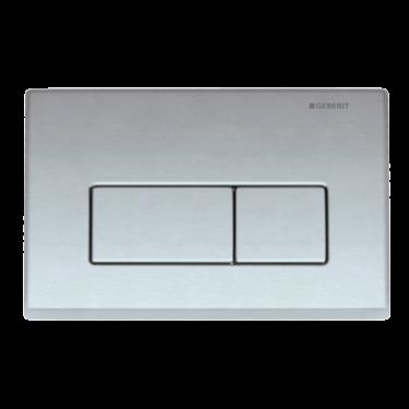 FIRED EARTH Flush Plates  Kappa 50   Material  Zinc Die Cast   Colour  Chrome    Size cm (h x w)  14.2 x 21.1    Price    £130.00