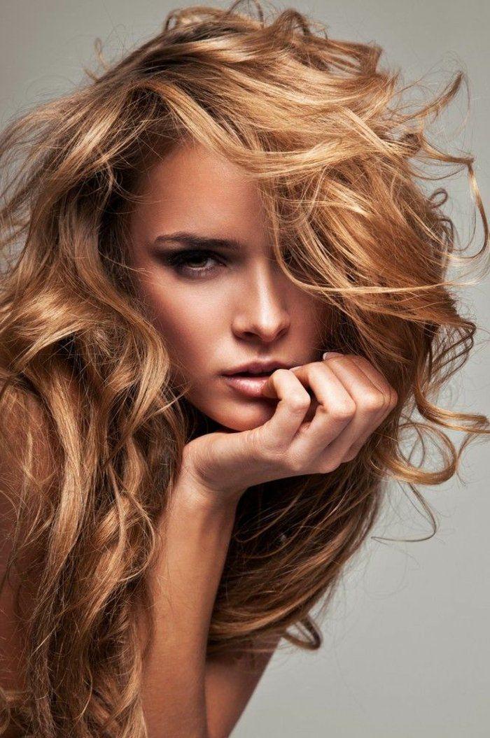 Le Blond Cuivré Fait Son Grand Retour 44 Idées En Photos Curly