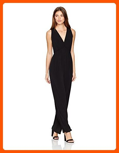 BCBGeneration Womens Jumpsuit with Deep V