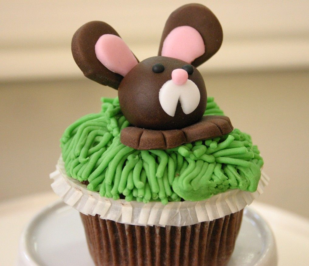 Hasen Cupcake