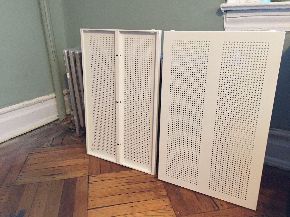 Ikea Algot Shelves Radiator Cover Covers Hackers Radiators