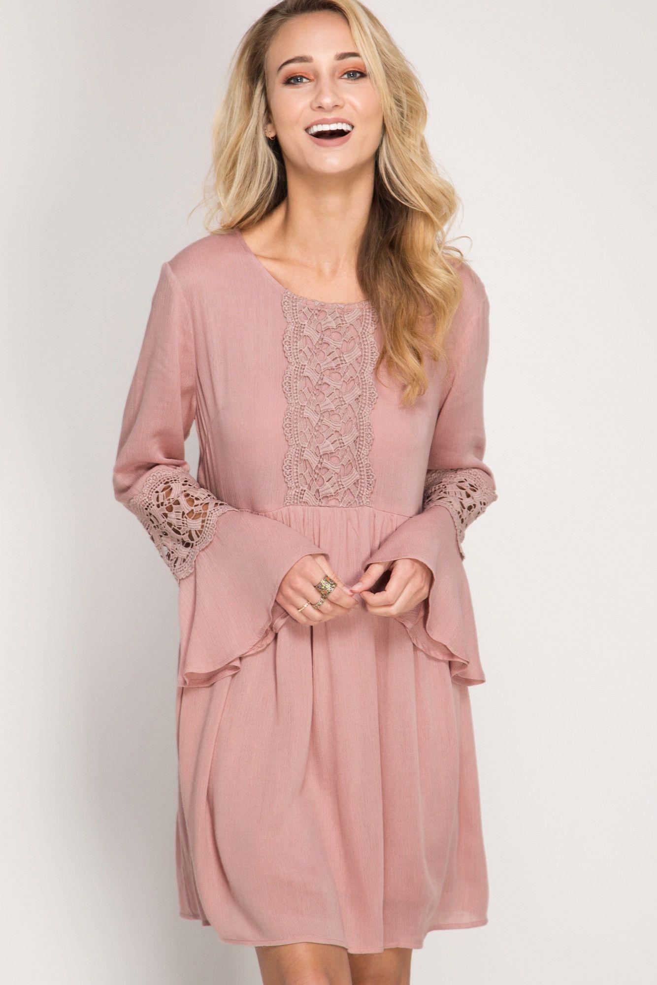 Dusty Rose | Pinterest | Vestidos de encaje, De encaje y Encaje
