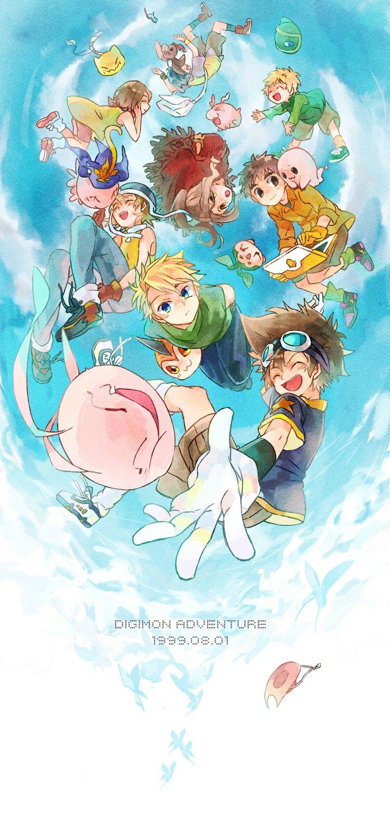 Anime Digimon Digimonfanart Digimonart Digimonanime 数码宝贝 デジモン イラスト デジモンアドベンチャーtri
