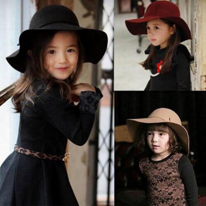 UK Summer Caps Kids Floppy Hat Soft Floral  Wide Brim Child Boy Girl Hats New