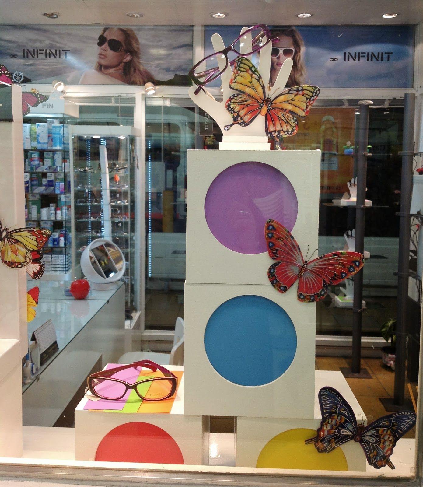 Arte y escaparates escaparate pinterest escaparate - Vidrieras modernas ...