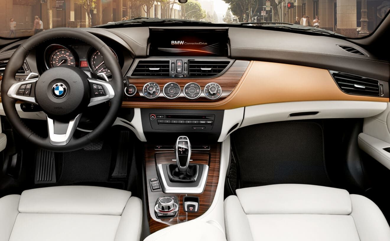 The Bmw Z4 Sdrive35i With Exclusive Nappa Leather In Ivory White And