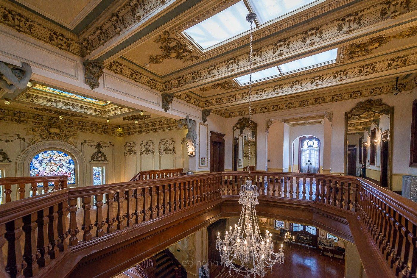 La inspiración para construir la Quinta Gameros surgió en 1904.
