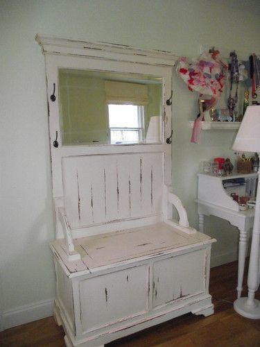 Mirror Coat Rack Entryway Small Spaces