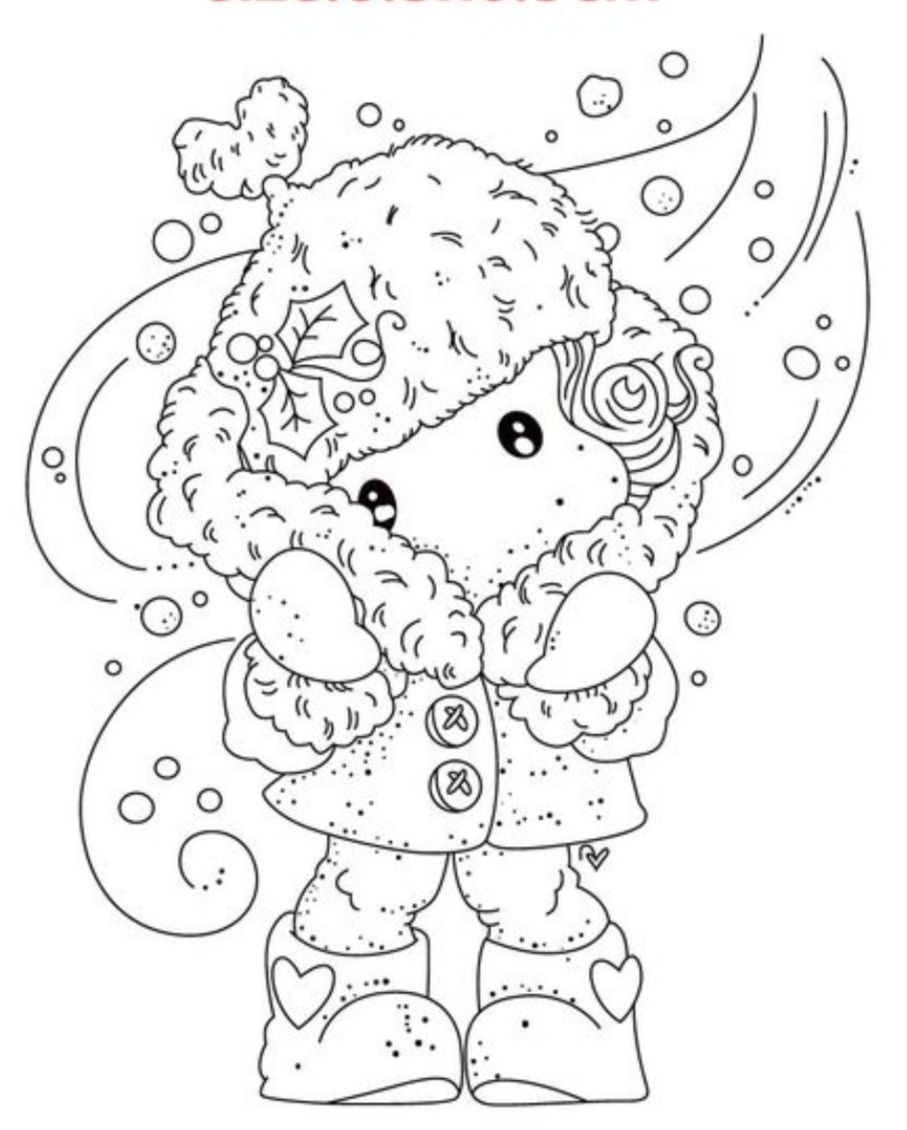 Pin By Lily Anuska On Digi Magnolia Magnolia Stamps Cute Coloring Pages Christmas Stamps [ 1130 x 907 Pixel ]