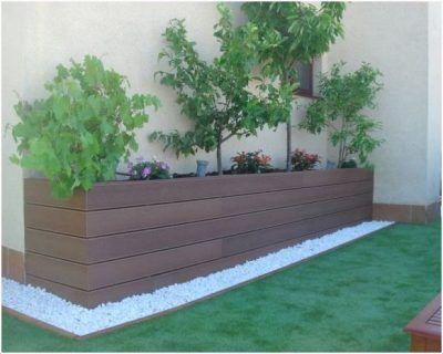 arreglos para jardin pequeño Deck Pinterest Jardines pequeños - jardineras modernas