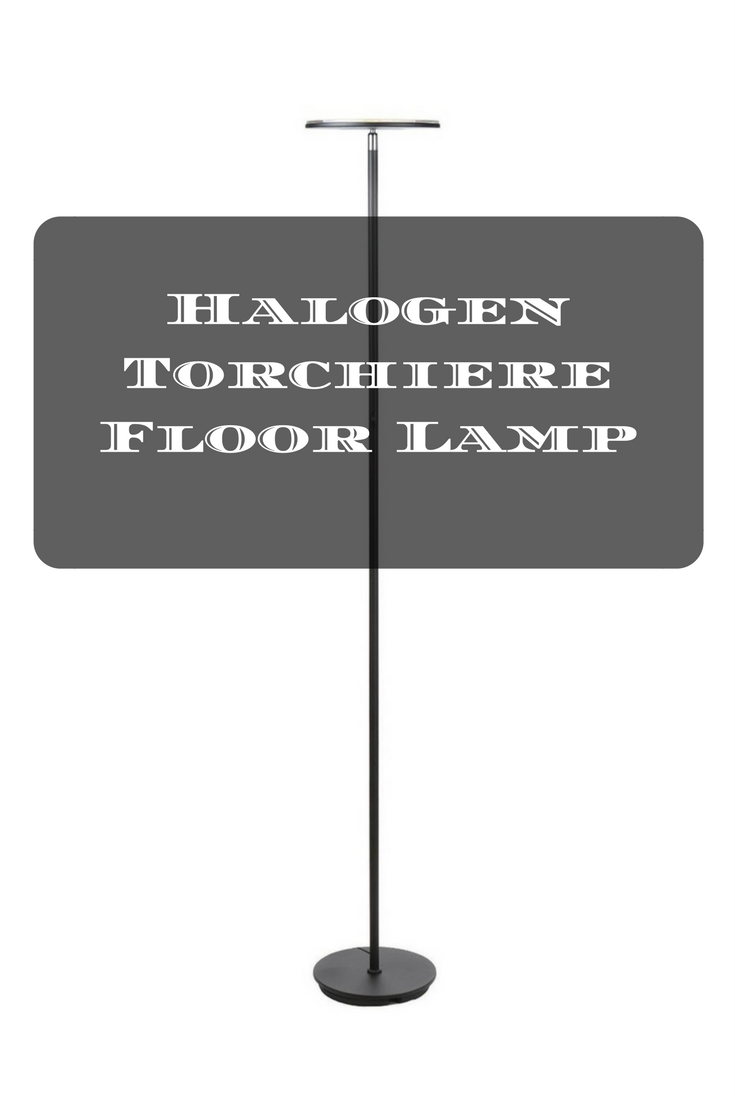 Halogen torchiere floor lamp furniture pinterest torchiere