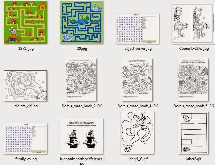 Descargar Gratis 44 Pasatiempos Infantiles Para Imprimir Y Colorear Crucigrama Para Niños Laberintos Para Niños Juegos Para Preescolar