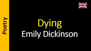 Poesia - Sanderlei Silveira: Emily Dickinson - Dying