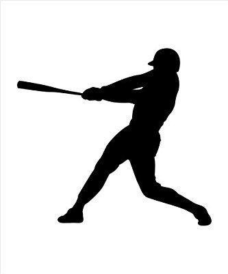 Baseball Player Batter Swinging Bat With Images Cartoon Styles