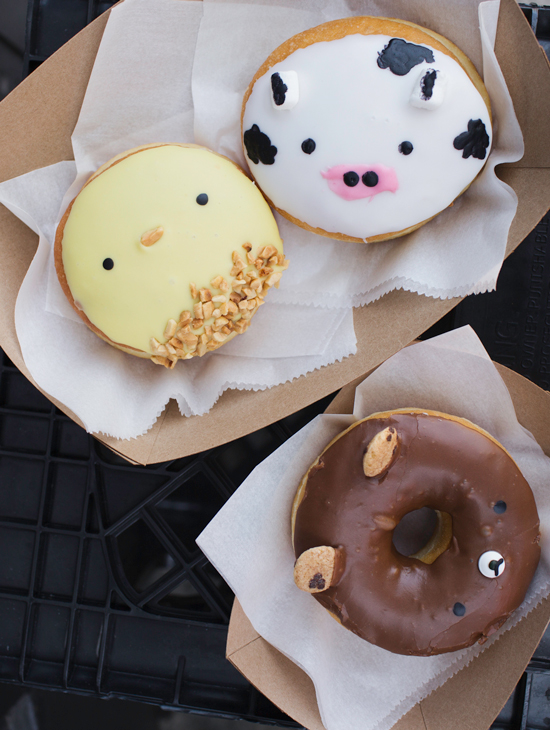 Animal Donuts From Fantastic Donuts Food Delicious