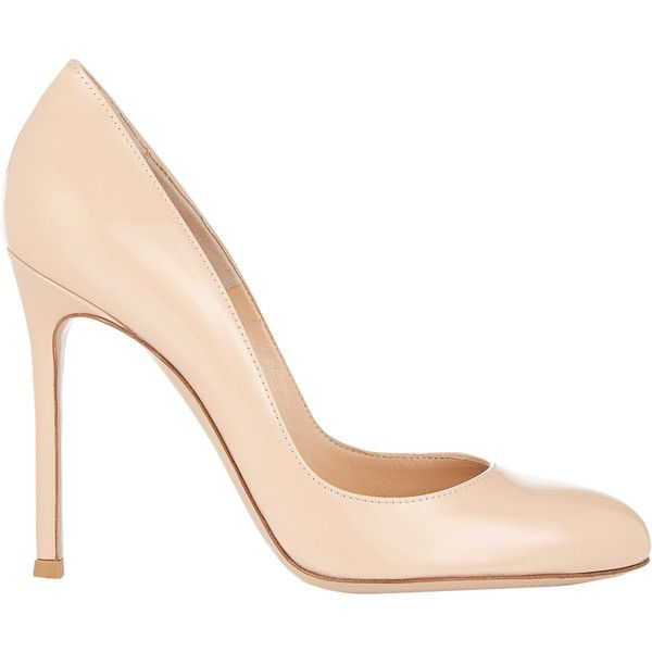 Sergio Rossi Round-Toe Leather Pumps ebay for sale free shipping cheap online cheap real authentic good selling cheap wholesale price y4jCHBIe