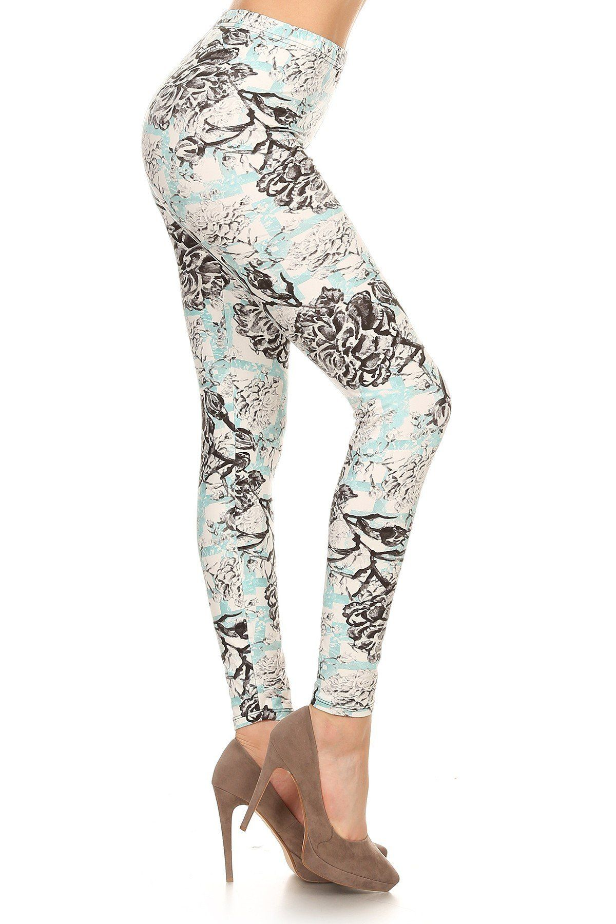dbf388fd9ffd23 Misty Floral Leggings #CortneyCrossingTop #WifeyLove #WinterFashion #Truth  #BLESSED #Shoes #