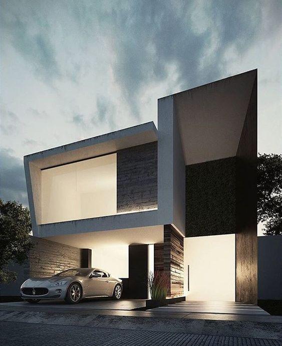 Minimalist Exterior Home Design Ideas: 10 Best Modern Minimalist Villa Designs Suitable For