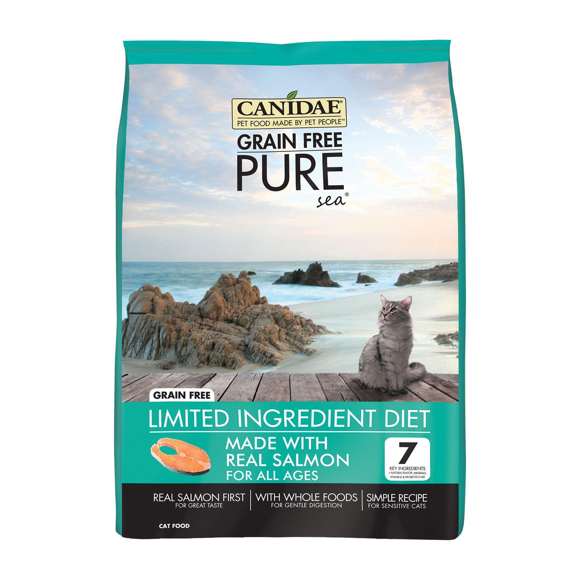 Canidae Pure Sea Formula With Fresh Salmon Dry Cat Food 10 Lbs